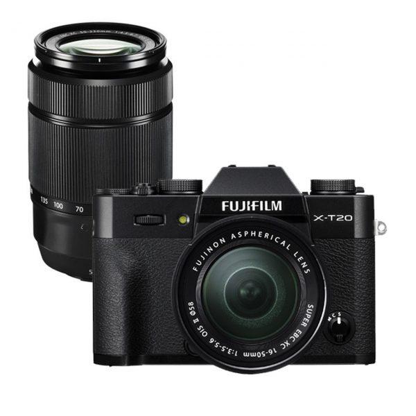 Fujifilm X-T20 Kit 16-50 & 50-230 Black