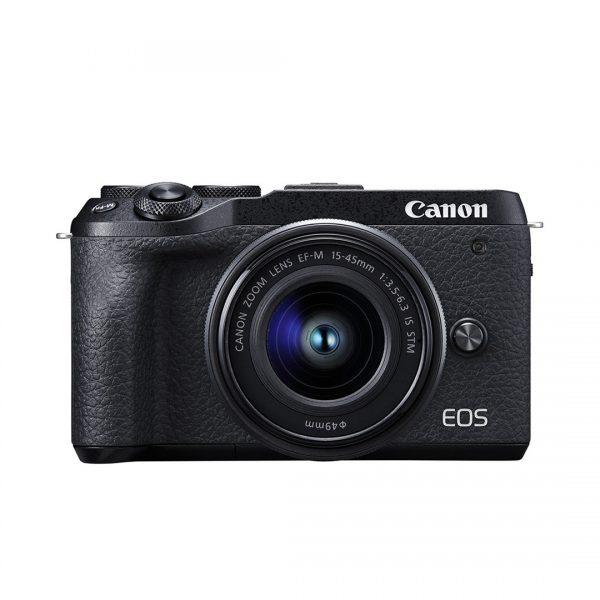 Canon EOS M6 Kit 15-45 IS STM Black