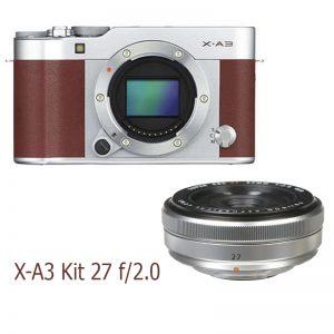 Fujifilm X-A3 Kit 27 F/2.8 Brown