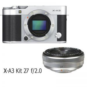 Fujifilm X-A3 Kit 27 F/2.8 Silver