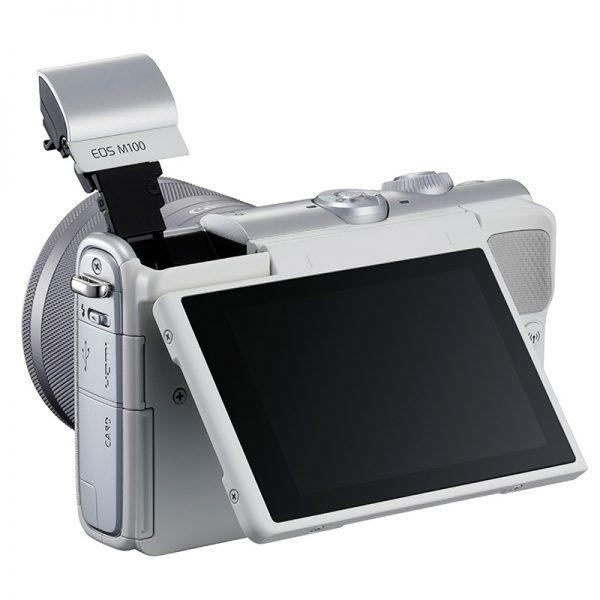 Canon EOS M100 Kit 15-45 IS STM White