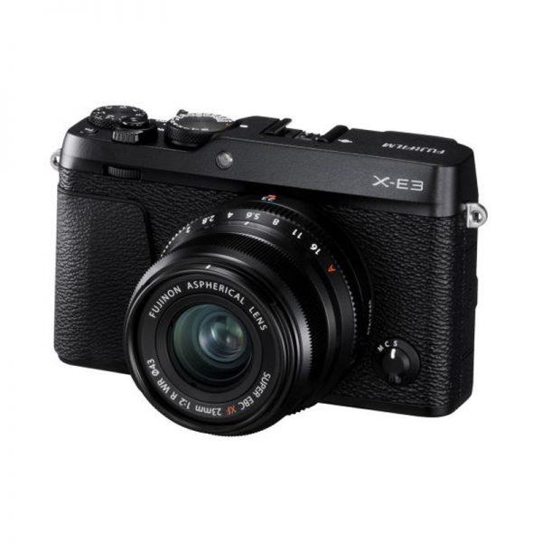 Fujifilm X-E3 Kit 23 F/2 R Wr Black