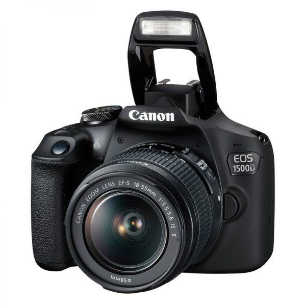 Canon EOS 1500D Kit 18-55 IS II Black