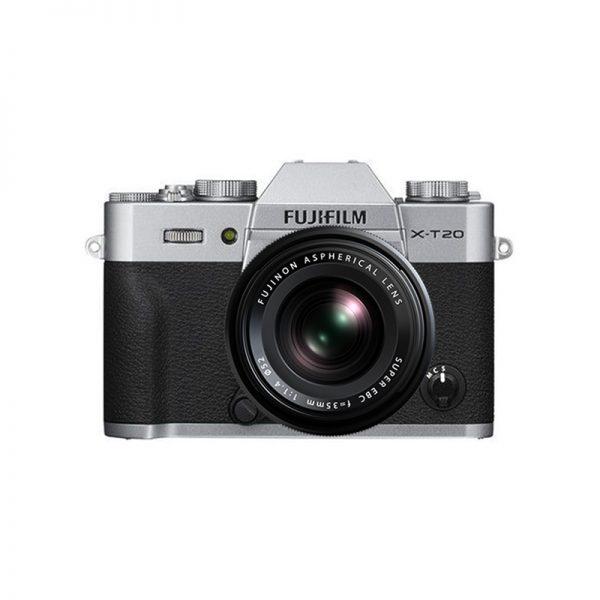 Fujifilm X-T20 Kit 35 F/1.4 Silver