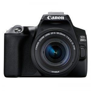 Canon EOS 200D Mark II Kit 18-55 IS STM Black
