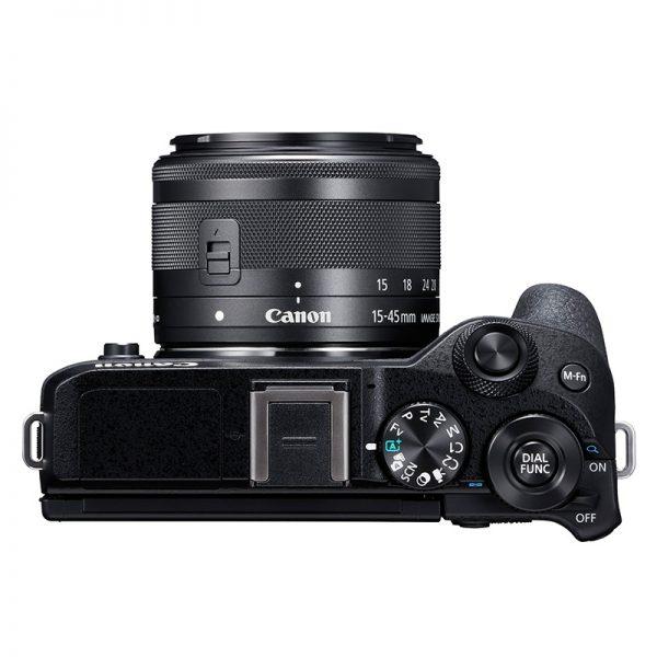 Canon EOS M6 Mark II Kit 15-45 Black