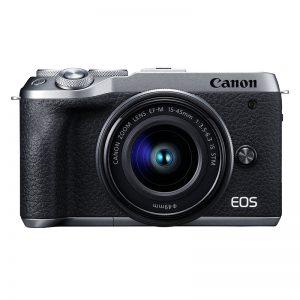 Canon EOS M6 Mark II Kit 15-45 Silver