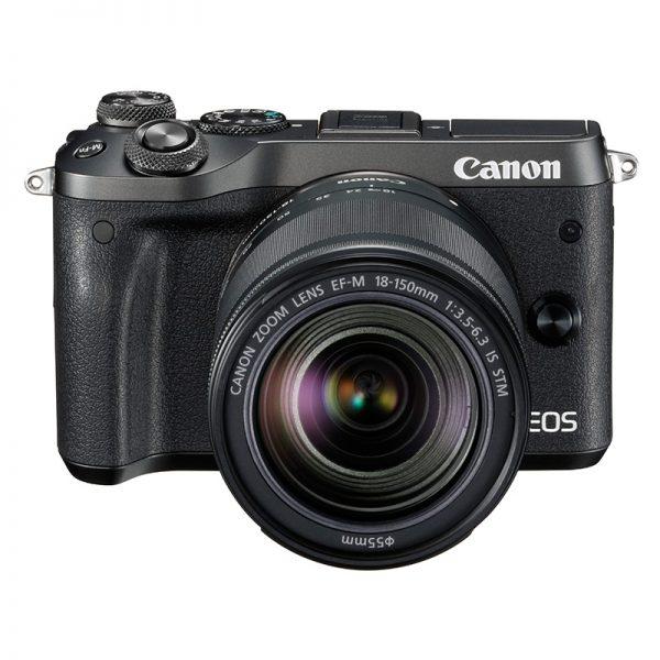 Canon EOS M6 Mark II Kit 18-150 Black