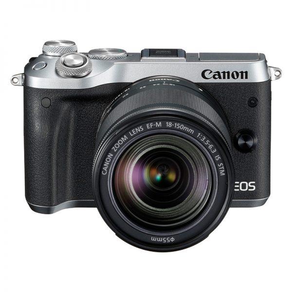 Canon EOS M6 Mark II Kit 18-150 Silver