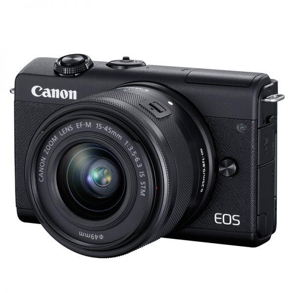 Canon EOS M200 Kit 15-45 IS STM Black