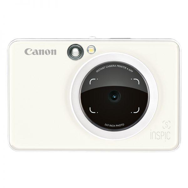 Canon Inspic [S] ZV-123A Pearl White