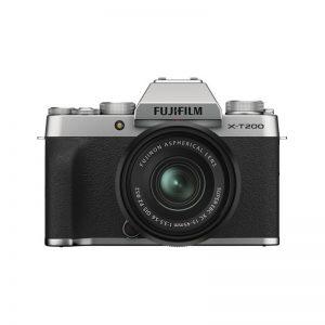 Fujifilm X-T200 Kit 15-45 Silver