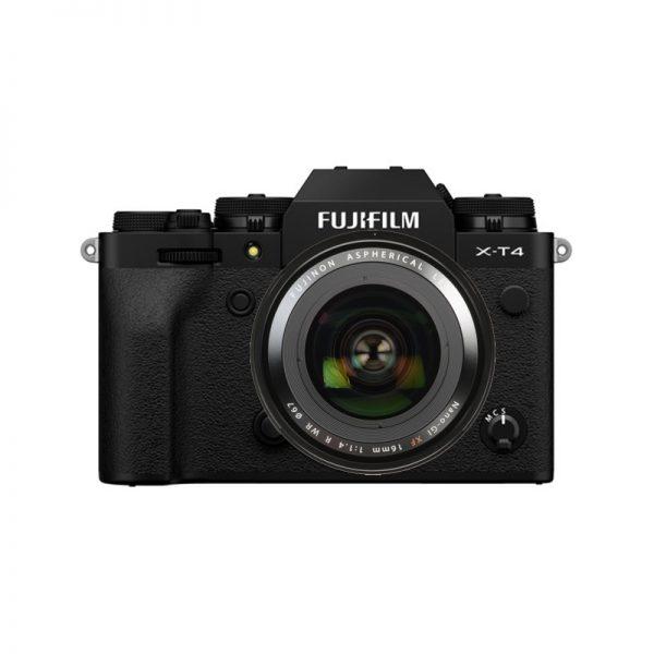 Fujifilm X-T4 Kit 16 F/1.4 Black