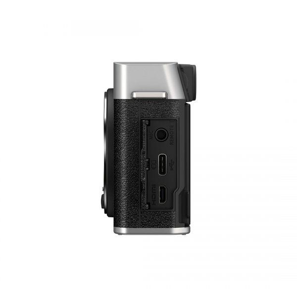Fujifilm X-E4 Kit 27 F/2.8 R Wr Silver