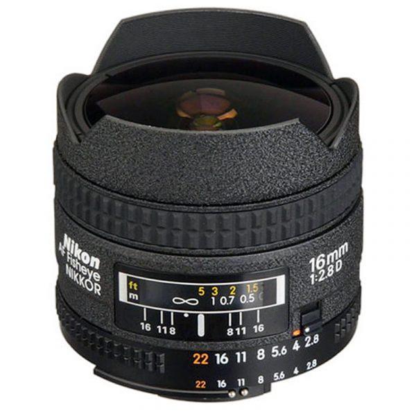 Nikon AF 16mm F2.8D Fisheye