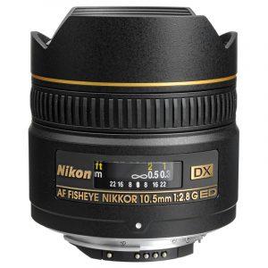 Nikon AF DX 10.5mm F2.8G ED Fisheye