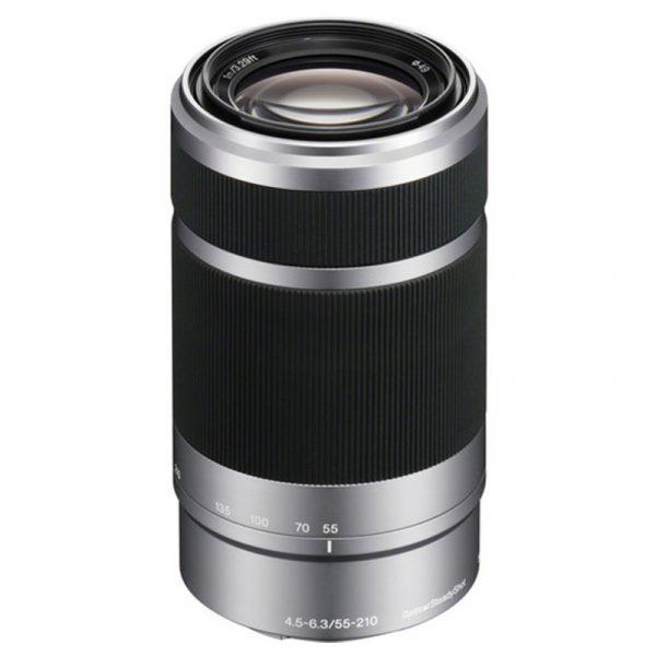 Sony E 55-210mm F4.5-6.3 Silver
