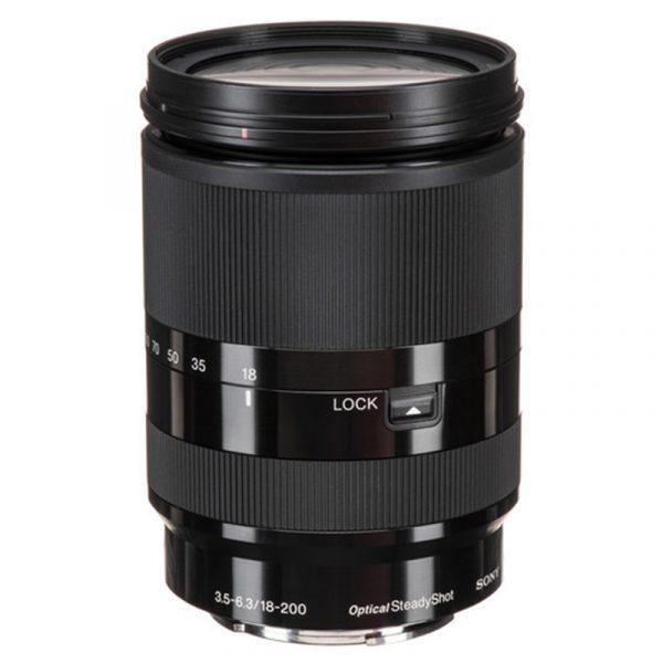 Sony E 18-200mm F3.5-6.3 OSS Black