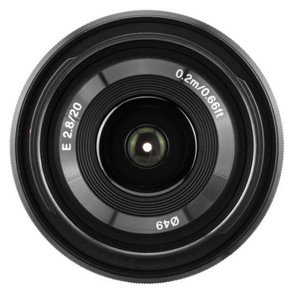 Sony E 20mm F2.8 Black