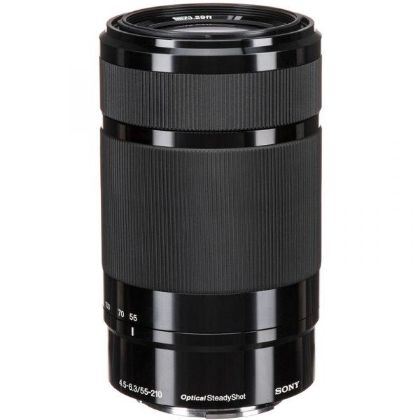 Sony E 55-210mm F4.5-6.3 Black