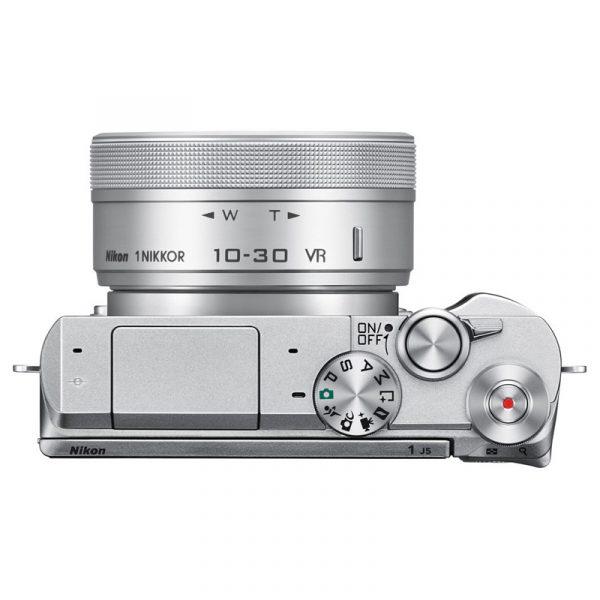 Nikon 1 J5 Kit 10-30mm VR Silver