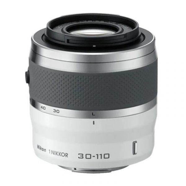 Nikon 1 J5 Kit 10-30mm + 30-110mm VR White