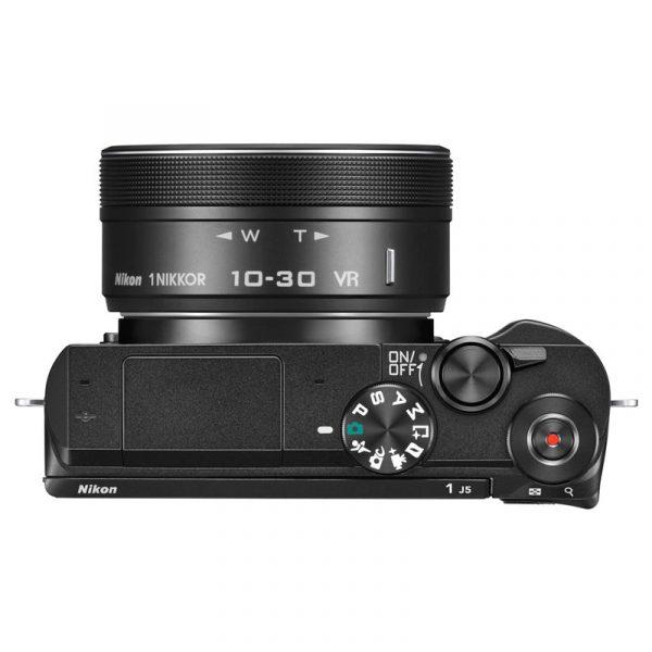 Nikon 1 J5 Kit 10-30mm + 30-110mm VR Black