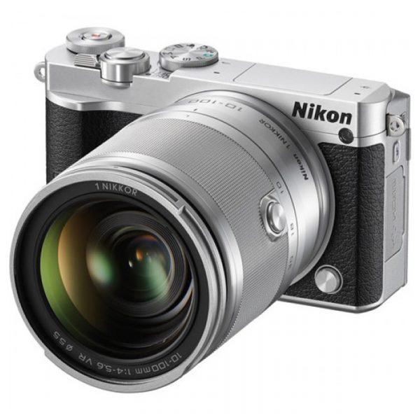 Nikon 1 J5 Kit 10-100mm VR Silver