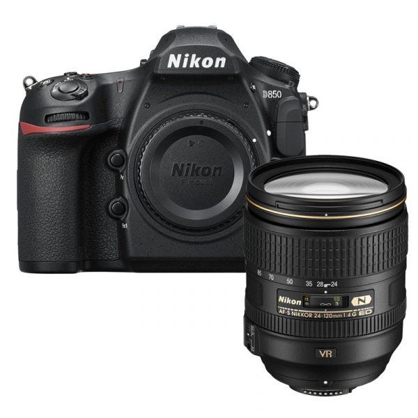 Nikon D850 Kit 24-120mm VR Black