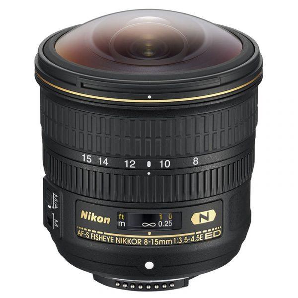 Nikon AF-S 8-15mm F3.5-4.5E ED Fisheye