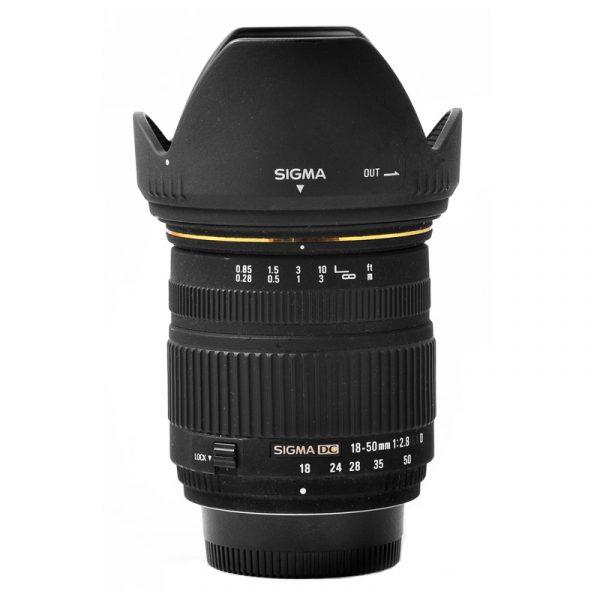 Sigma 18-50mm F2.8 Macro For Canon
