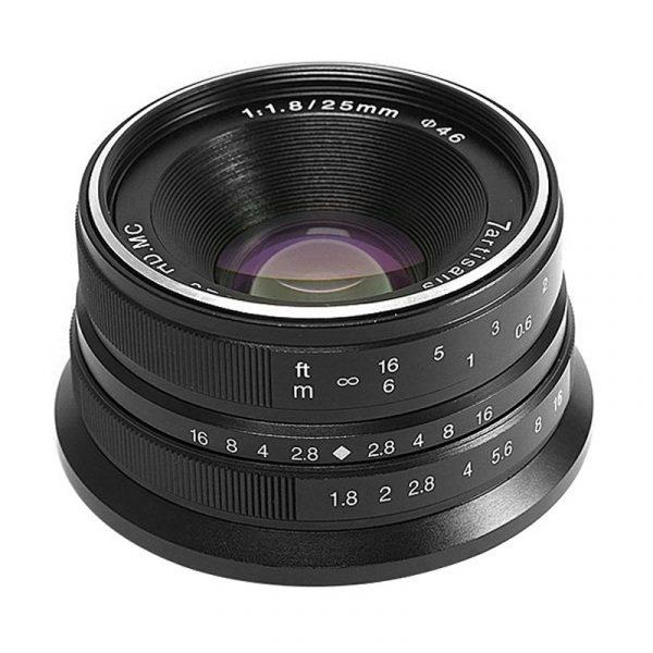 7Artisan 25mm F1.8 For Sony E-Mount