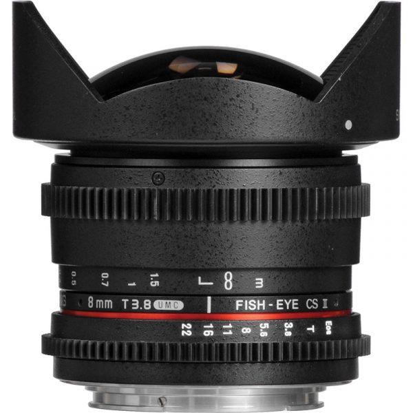 Samyang 8mm F3.5 CS II For Canon