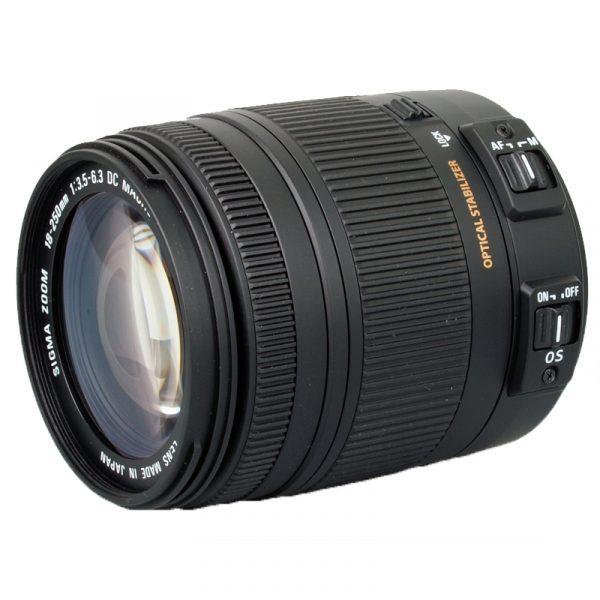 Sigma 18-250mm F3.5-6.3 DC Macro OS For Nikon
