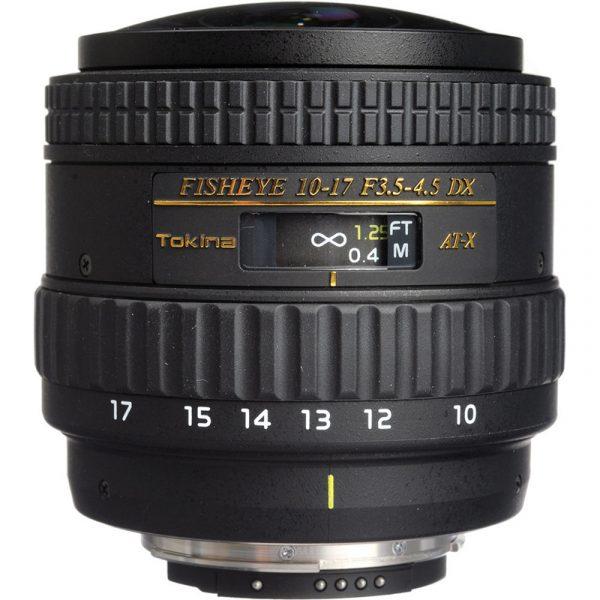 Tokina 10-17mm Fisheye For Nikon
