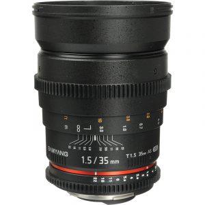 Samyang 35mm T1.5 VDSLR For Nikon