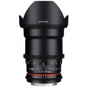 Samyang 35mm T1.5 VDSLR II For Canon