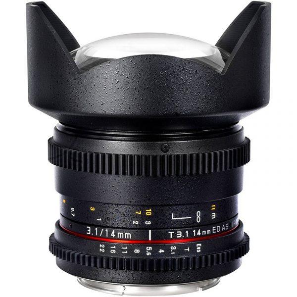 Samyang 14mm T3.1 VDSLR For Canon