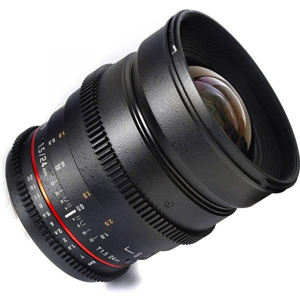 Samyang 24mm T1.5 VDSLR For Nikon