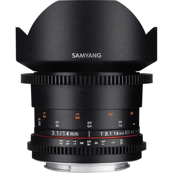 Samyang 14mm T3.1 VDSLR II For Canon