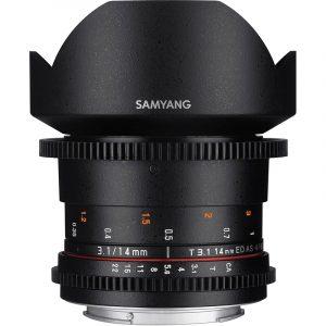 Samyang 14mm T3.1 VDSLR II For Sony