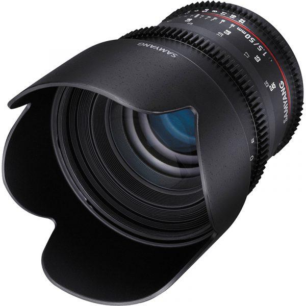 Samyang 50mm T1.5 VDSLR For Nikon