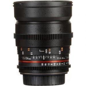 Samyang 24mm T1.5 VDSLR II For Canon