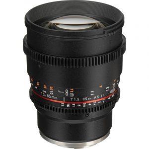 Samyang 85mm T1.5 VDSLR II For Sony