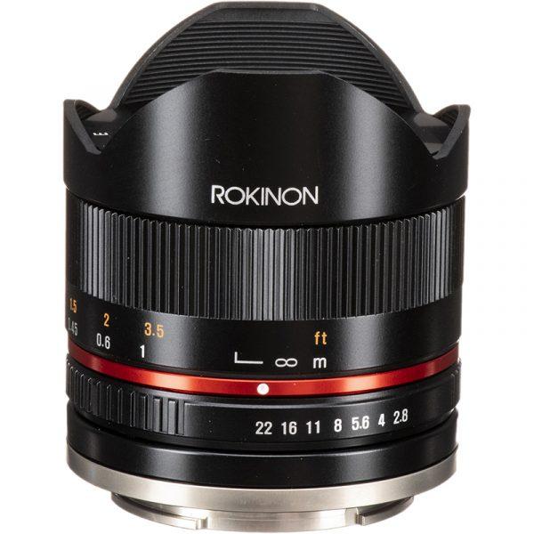 Samyang 8mm F2.8 CS II For Sony E-Mount Black