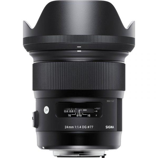 Sigma 24mm F1.4 DG (A) For Nikon