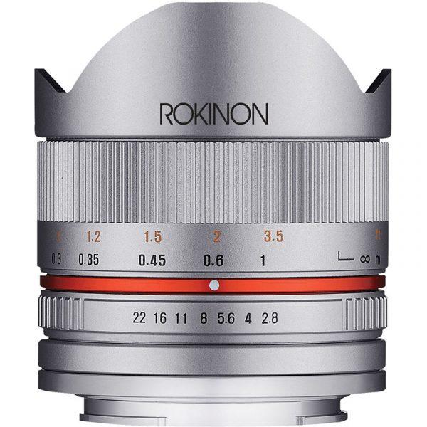 Samyang 8mm F2.8 CS II For Sony E-Mount Silver