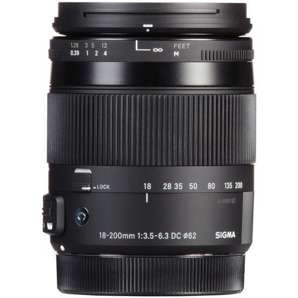 Sigma 18-200mm F3.5-6.3 DC Macro OS (C) For Nikon