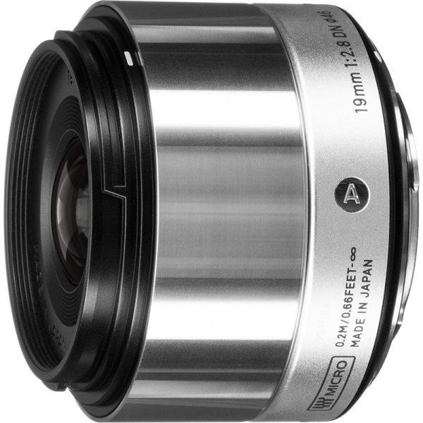 Sigma 19mm F2.8 DN AF For Sony Silver