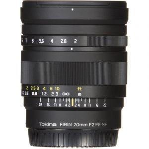 Tokina Firin 20mm F2 For Sony (Fe-Mount)